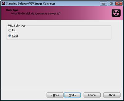 StarWind V2V SCSI Type.png