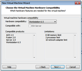 VMWare VM Hardware Compatibility.png