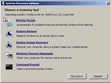 VMWare Win7 System Recovery Options.png